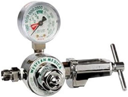Nitrogen Single Stage Preset 50 PSI Pressure Healthcare Regulator M1-580-P