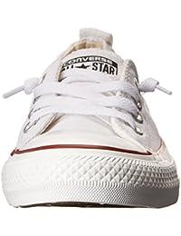 Women's Chuck Taylor Shoreline Slip Casual Shoe, White- 7 B(M) US Women / 5 D(M) US Men