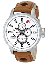 Invicta Men's 16016 S1 Rally Analog Display Japanese Quartz Brown Watch