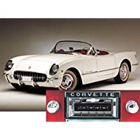 1953-1957 Chevrolet Corvette USA-630 II High Power 300 watt AM FM Car Stereo/Radio with iPod Docking Cable