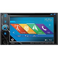 Clarion VX405 2-Din DVD Multimedia Station with 6-Inch Touch Panel Control
