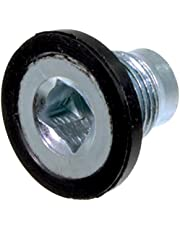 APDTY 101284 Engine Oil Pan Drain Plug w/Gasket (M18-1.5 31.25mm; Replaces 05080631AB, 5080631AA, 68210509AA)