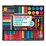 ALEX Toys - Artist Studio Portable Art Set with Carrying Case, 352-150