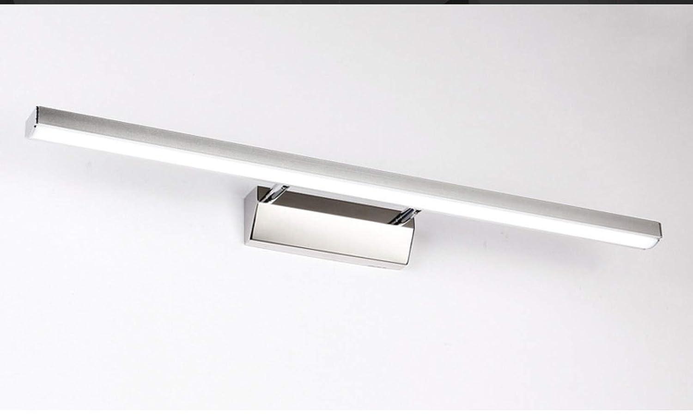 KFDQ LED-Spiegelfrontleuchte, Wasserdichte Anti-Nebel-Lampe Im Badezimmer, Moderne, Minimalistische Energiespar-Wandleuchte, LED-Make-Up-Lampe