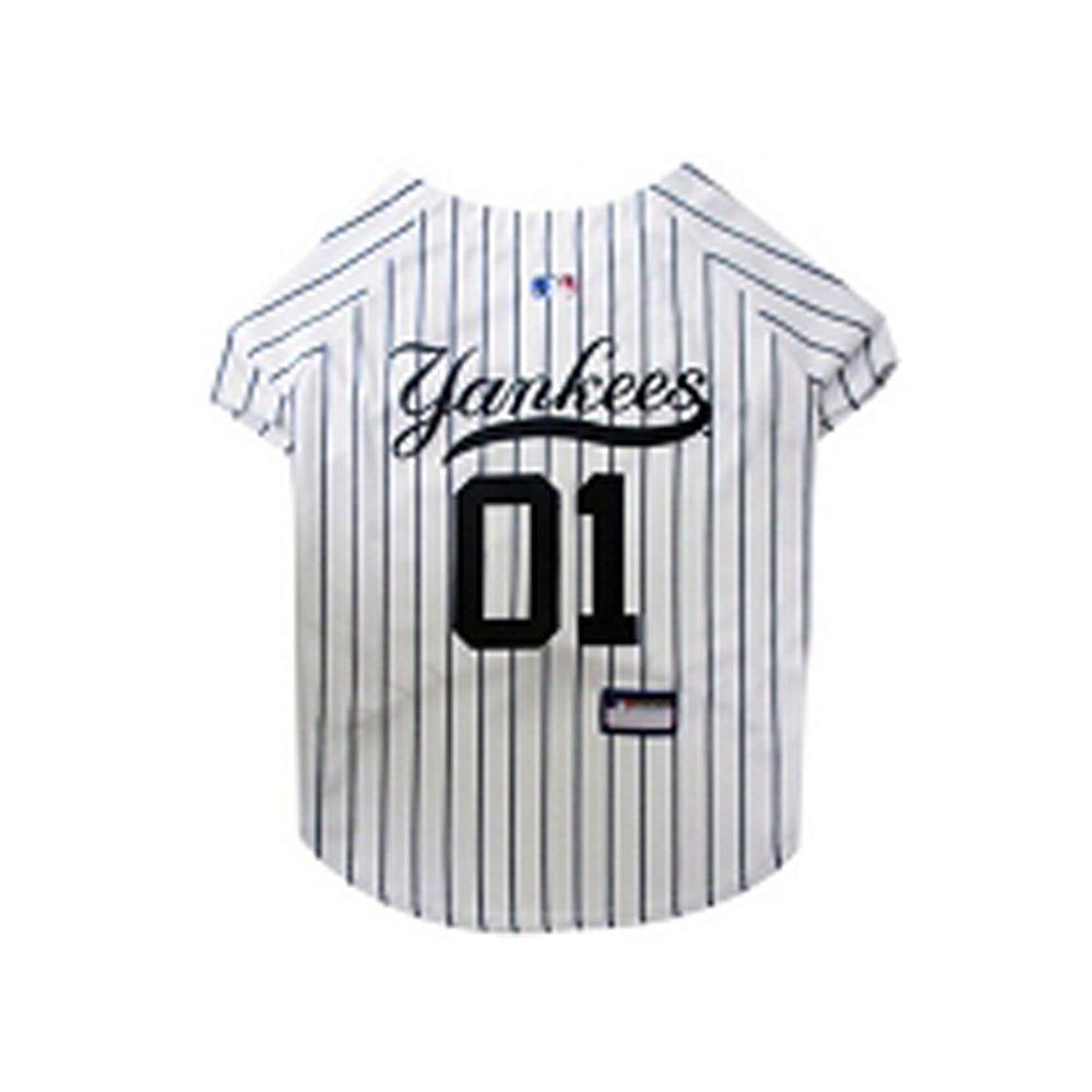 Hunter Mfg DN-3112111-M New York Yankees Dog Jersey Medium
