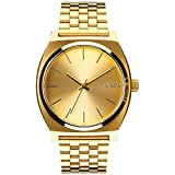 Nixon Men's A045-511 Stainless-Steel Analog Gold Dial Watch