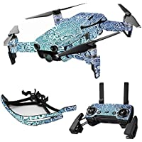 MightySkins Skin for DJI Mavic Air Drone - Carved Blue | Max Combo Protective, Durable, and Unique Vinyl Decal wrap cover | Easy To Apply, Remove, and Change Styles | Made in the USA