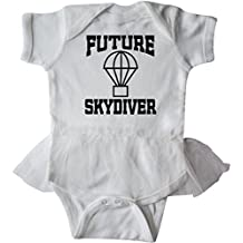 inktastic Future Skydiver Infant Tutu Bodysuit
