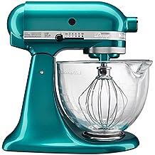 KitchenAid KSM155GBSA 5-Qt. Artisan Design Series with Glass Bowl - Sea Glass