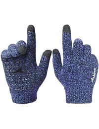 Achiou Winter Warm Touchscreen Gloves for Women Men Knit...