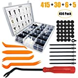 Jack&Dave 415 Pcs Car Retainer Clips & Fastener