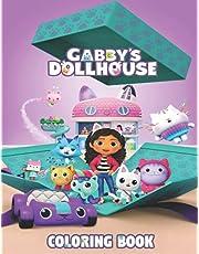 Gabby's Dollhouse Coloring Book: Gabby Dollhouse , High Quality Graphics Of Gabbys Dollhouse
