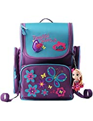 Moonwind Kids Backpacks for Girls Princess School Book Bags Schoolbag Elementary
