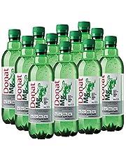 Donat mg naturligt mineralvatten rik på magnesium - 500 mg magnesium i 500 mg - 100% naturligt mousserande vatten - 12 x 0,5L