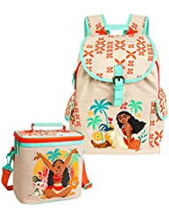 Disney Moana Backpack and Insulated Lunch Tote Bundle