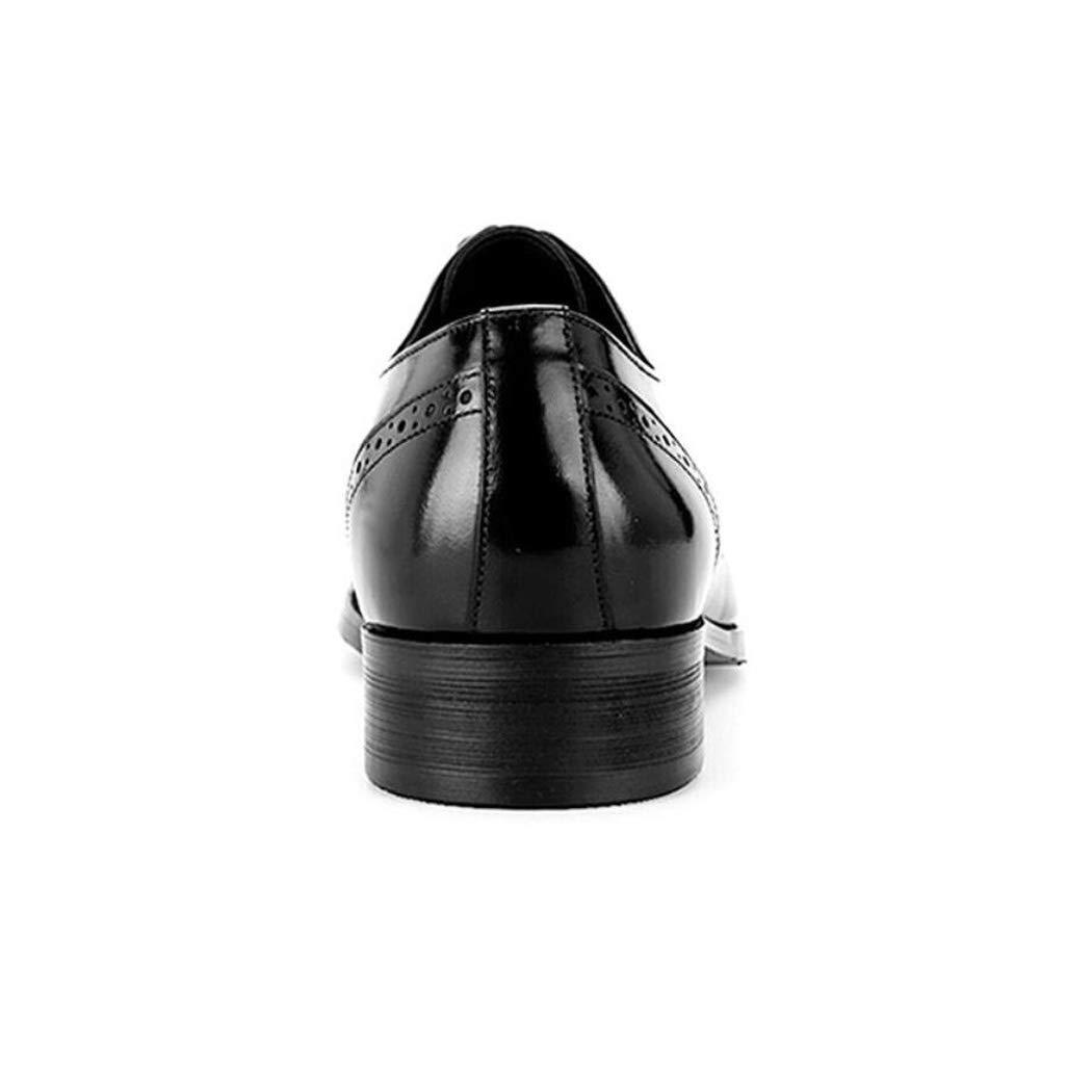 Zxcvb Herren Leder Wildleder Retro Brock Trend Carved England Trend Brock Schuhe Herren Freizeitschuhe f34ecb