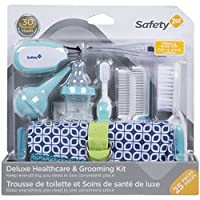 Safety 1st IH3240300 Deluxe Healthcare & Grooming Kit - 25 pieces, Arctic Blue