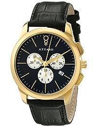 Azzaro Men's AZ2040.63BB.000 Legend Analog Display Swiss Quartz Black Watch