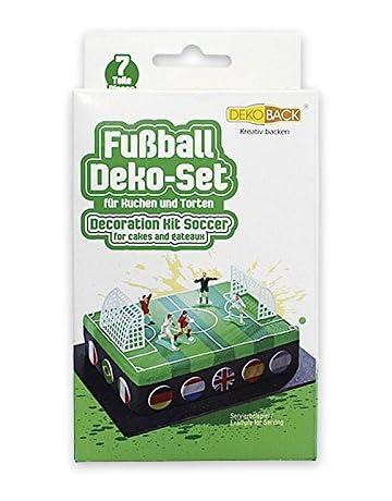 Dekoback 02-08-00005 - Decoración para tartas, 7 piezas, diseño de