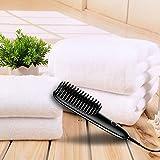 Miuphro Mini Hair Straightener Brush, Suitable