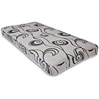 Wolf Slumber Express Smooth 6-Inch Innerspring Mattress filled with Wolfs cotton blend, Twin, Bed in a Box, Made in the USA