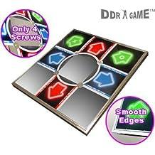 New DDR Metal Dance Pad V 3.0 For PS/PS2 Non-Slip EVA Foam Base Touch Sensitive Technology
