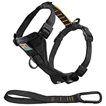 Kurgo Tru-Fit No Pull Dog Harness Easy Walk Dog Harness, Black, Large