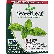 Sweetleaf - 100% Natural Stevia Sweetener - 70 X 1g Packets