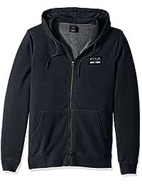RVCA Men's Hat Patch Zip Hoodie