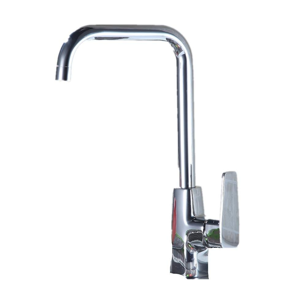 Kitchen hot and cold faucet single - jointed sink sinks pots stainless steel faucet