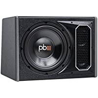 "Powerbass PS-WB121 550W Single 12"" Loaded Subwoofer Enclosure SVC 4 Ohm"