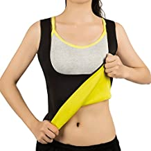 Hot Sweat Vest Neoprene Sauna Vest/Pants For Weight Loss Tummy Fat Burner Slimming Shapewear Hot Thermo Body Shaper Sweat Tank Top Capris Black No Zip