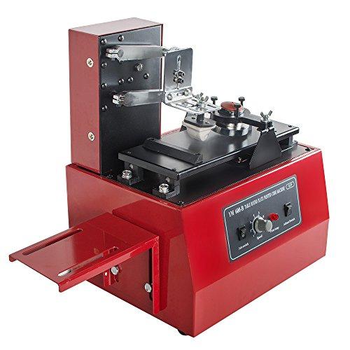 Vinmax Pad Printer Machine Multi-Function Electric Pad Printer Machine Automatic Ink Printing T-Shirts Balls Pens Light (Shipping from US),110V from vinmax