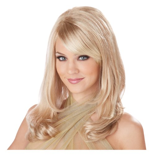 Blonde Lush Layers Wig (California Costumes Women's Lush Layers Wig, Blonde, One Size)
