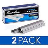 "Swingline Staples, S.F. 4, Premium, 1/4"" Length, 210/Strip, 5000/Box, 2 Pack (35450AZ) - S7035450AZ"