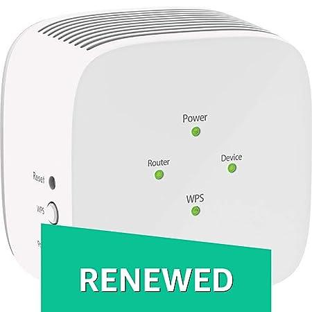 Renewed  Netgear EX3110 AC750 WiFi Range Extender  White  Repeaters   Extenders
