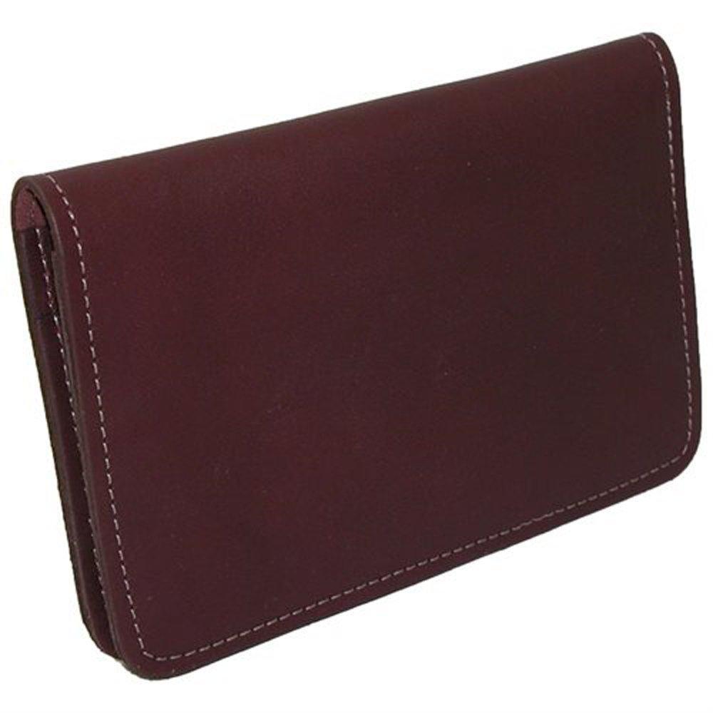 03dd75dc05 Bagages Neuf Cuir Top Stub chéquier Portefeuille Cover pour Top Stub  Vérifie Marron JHY Leather NS131 ...