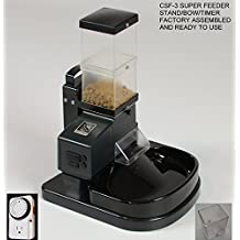 Automatic Cat Feeder Ready to Use CSF-3 with Stand, Bowl