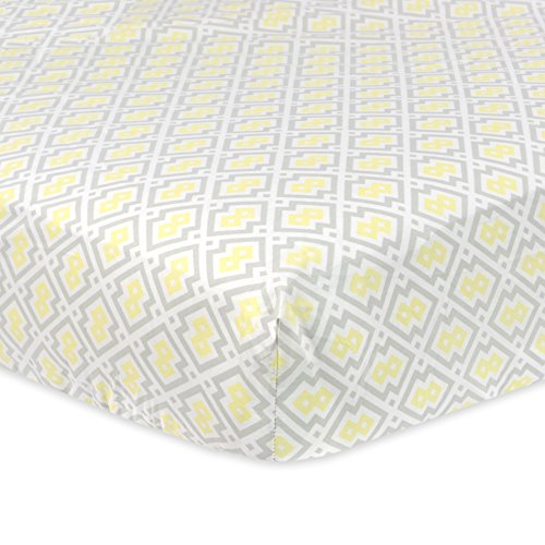 Just Born Cotton Fitted Yellow product image
