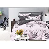 Duvet cover set Reservible with fit sheet-6 pieces set King size