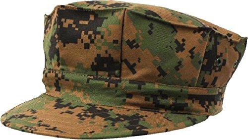 (Marines BDU Cap 8 Point Military Fatigue Hat Utility Cover Uniform Camo)