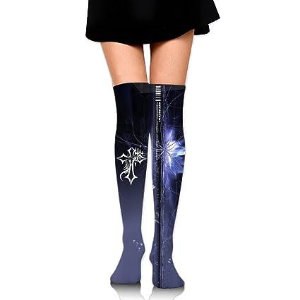 Amazon Com Donyoung Unisex Jesus Cross Tribal Tattoo Running Socks