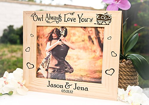 Personalized Picture Frame - Owl Always Love - Photos Ray Ban