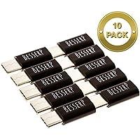 10 Pk Micro USB C Adapter