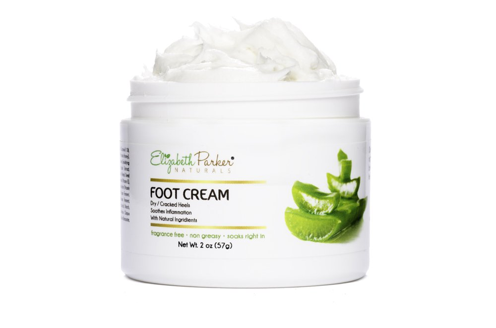 Foot Cream for Dry Cracked Heels and Feet - Anti Fungal for Athletes Foot - Best Foot Callus Remover for Men and Women - Fragrance Free and Non Greasy 2oz