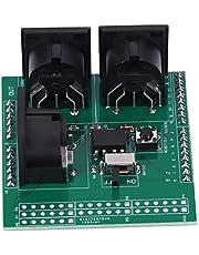 Placa de protección MIDI Shield, 3 conectores MIDI hembra de ángulo recto Serie a módulo MIDI con extensión 2.54mm Encabezados de clavija para adaptador de interfaz digital Arduino UNO R3 AVI PIC
