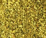 """Safe & Non-Toxic {Small Size, 0.12"""" to 0.25"""" Inch} 5 Pound Bag of Acrylic Coated Gravel & Pebbles Decor for Freshwater Aquarium w/Vibrant Daffodil Inspired Bright Sunny Style [Yellow]"""