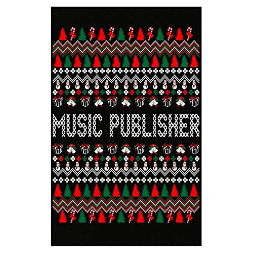 AttireOutfit Music Publisher Ugly Christmas Sweater - Poster (Publisher Music Posters)