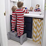 Simplay3 Sibling Step Stool - 2 Sided Extra Wide