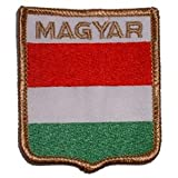 "Magyar Shield Patch 2 1/2"" x 3"""